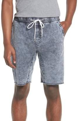 The Rail Acid Wash Jogger Shorts