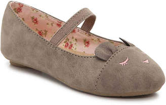 Jellypop Lil Squeeze Toddler Mary Jane Flat - Girl's
