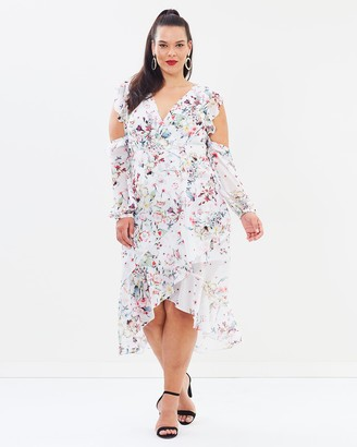 Cooper St CS CURVY Titania Cold Shoulder Dress