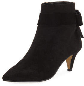 2f90d08dc309 ... Elie Tahari Avitar Booties With Bow Detail