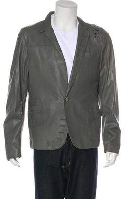 Yigal Azrouel Deconstructed Leather Jacket