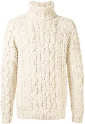 Dolce & Gabbana raglan-sleeves turtleneck jumper