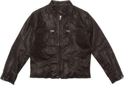 Frank & Lu Washed Leather Jacket