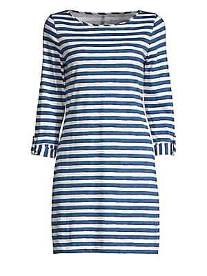 Lilly Pulitzer Women's Marlowe Striped Cotton Shift Dress