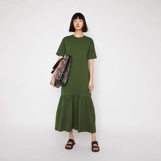 Warehouse T-Shirt Tiered Maxi Dress