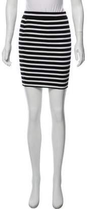 Alexander Wang Striped Bodycon Skirt w/ Tags