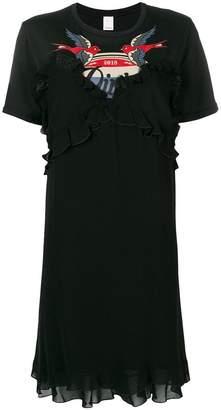 Pinko T-shirt ruffle dress