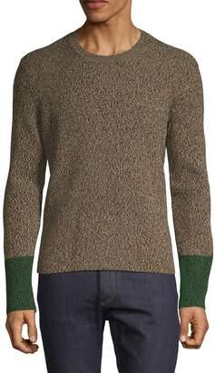 Valentino Textured Crewneck Sweater