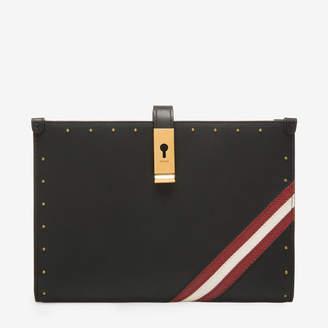 Bally Alyssa Black, Women's calf leather travel wallet in black