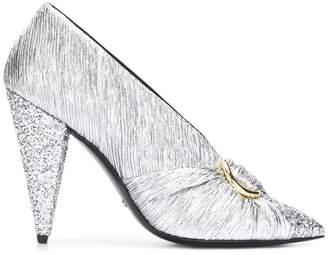 Stella Luna glitter detail pumps