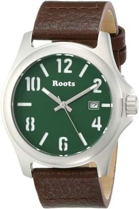 Roots Women's 1R-LF101GN2C Bonita Analog Display Japanese Quartz Brown Watch