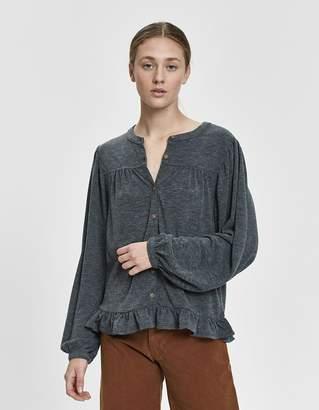 Farrow Karine Long Sleeve Peasant Top