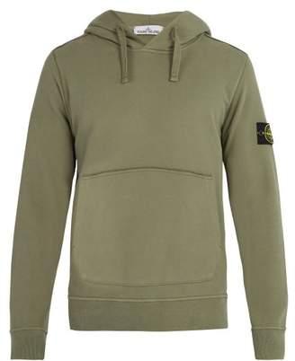 Stone Island - Drawstring Hooded Sweater - Mens - Khaki