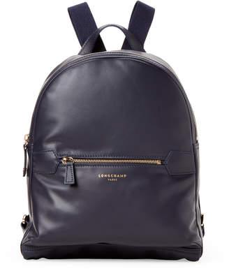 Longchamp Navy 2.0 Medium Leather Backpack