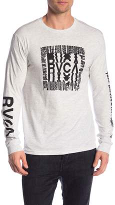 RVCA Disrupt Graphic Long Sleeve Sweater