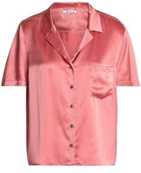 Alexander Wang Silk-Satin Shirt