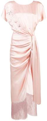 Magda Butrym side knot dress
