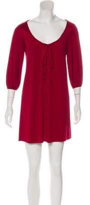 Graham & Spencer Mini Silk Dress