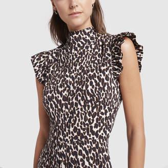La DoubleJ Bon Ton Leopard Dress