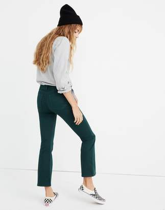 Madewell Cali Demi-Boot Sateen Jeans