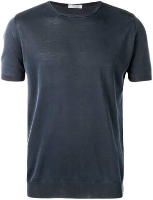 Boglioli knitted short sleeve top