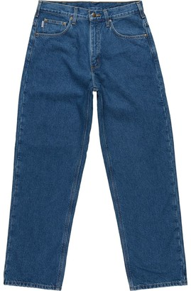 Carhartt Relaxed-Fit Straight-Leg Flannel Lined Denim Pant - Men's