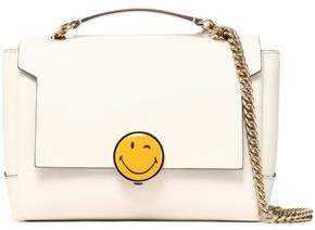 Anya Hindmarch Bathurst Embellished Leather Shoulder Bag