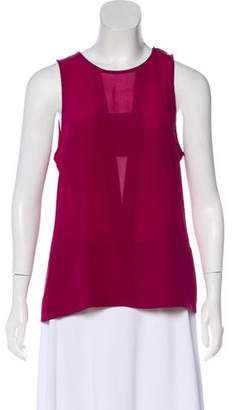 Trina Turk Sleeveless Silk Blouse