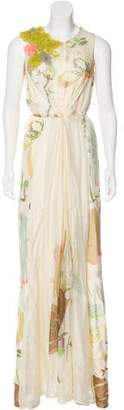 Maurizio Pecoraro Sleeveless Maxi Dress