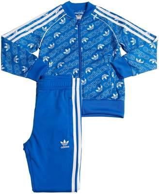 adidas Logo Techno Track Jacket & Track Pants