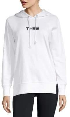 Tommy Hilfiger Logo Raglan-Sleeve Hoodie