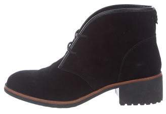 Tory Burch Suede Ankle Boots