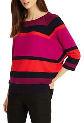 Phase Eight Sabra Striped Jumper, Multi