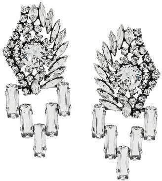 Sonia Rykiel crystal embellished earrings