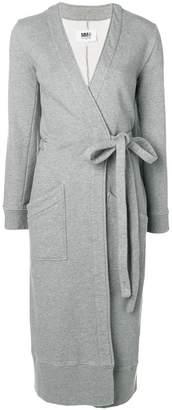 MM6 MAISON MARGIELA belted sweater coat