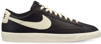 Nike Men's Blazer Low Leather Casual Sneakers from Finish Line