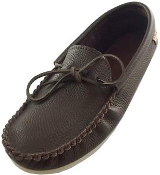 d29d35354382f Laurentian Chief Men s Crepe Sole Genuine Rocky Oil Tan Leather Moccasins