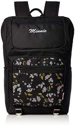 Disney (ディズニー) - [ディズニー] キャラクターリュック キャラクターバッグ 4287-6500 BK/PN クロ/ピンク