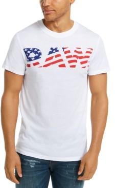 G Star Raw Men's Flag Logo T-Shirt, Created For Macy's
