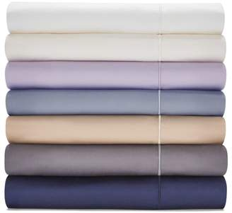 Hudson Park Collection 500TC Sateen Iron Free California King Fitted Sheet - 100% Exclusive