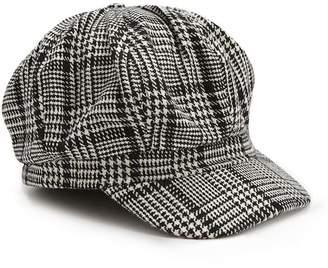 Forever 21 Glen Plaid Cabby Hat