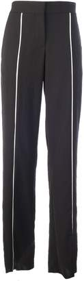Loewe Piping Chino Palazzo Trousers Contrasting Relief