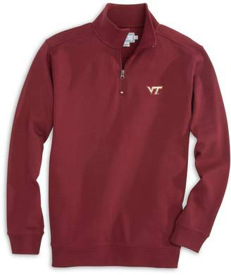 Southern Tide Gameday Skipjack 1/4 Zip Pullover - Virginia Polytechnic Institute and State University
