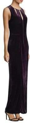 Elie Tahari Jembra Velvet Cutout Dress