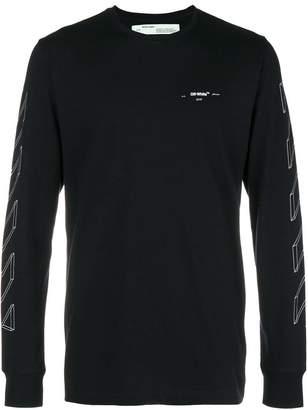 Off-White line print sweatshirt