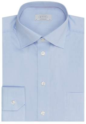 Eton Classic Fit Cotton Twill Shirt