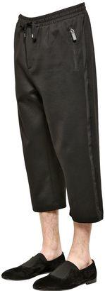 Tuxedo Style Cotton Jogging Pants $795 thestylecure.com
