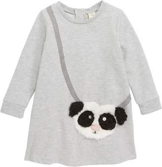 Tucker + Tate Faux Fur Panda Pocket Dress