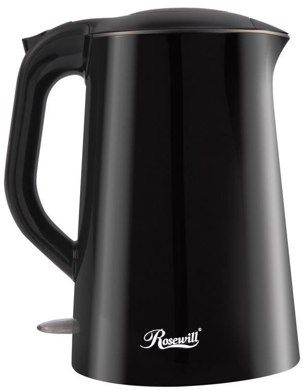 Rosewill Double Layer Insulated Stainless Steel Pot Double Wall Electric Tea Water Kettle, 1.5 l