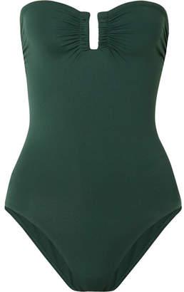 Eres Les Essentiels Cassiopée Bandeau Swimsuit - Emerald